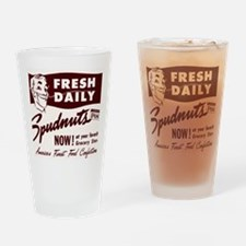 SPUDNUTS Fresh Daily Drinking Glass