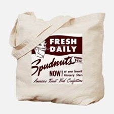 SPUDNUTS Fresh Daily Tote Bag