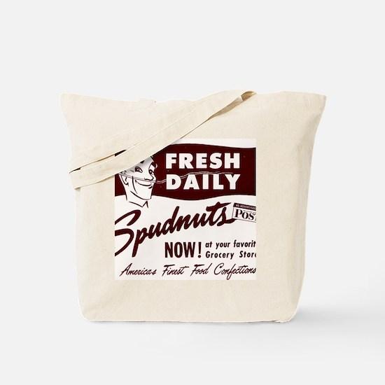SPUDNUTS Fresh Daily Tote Bag