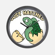 Just Hatched Turtle Wall Clock