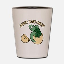 Just Hatched Turtle Shot Glass