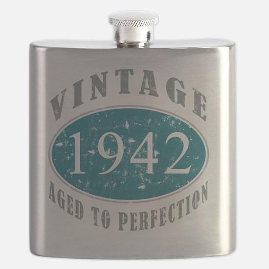 1942 Vintage Blue Flask
