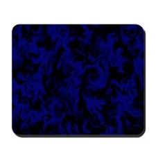 Dark Electric Blue Mousepad