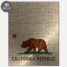 Gold California Republic Puzzle