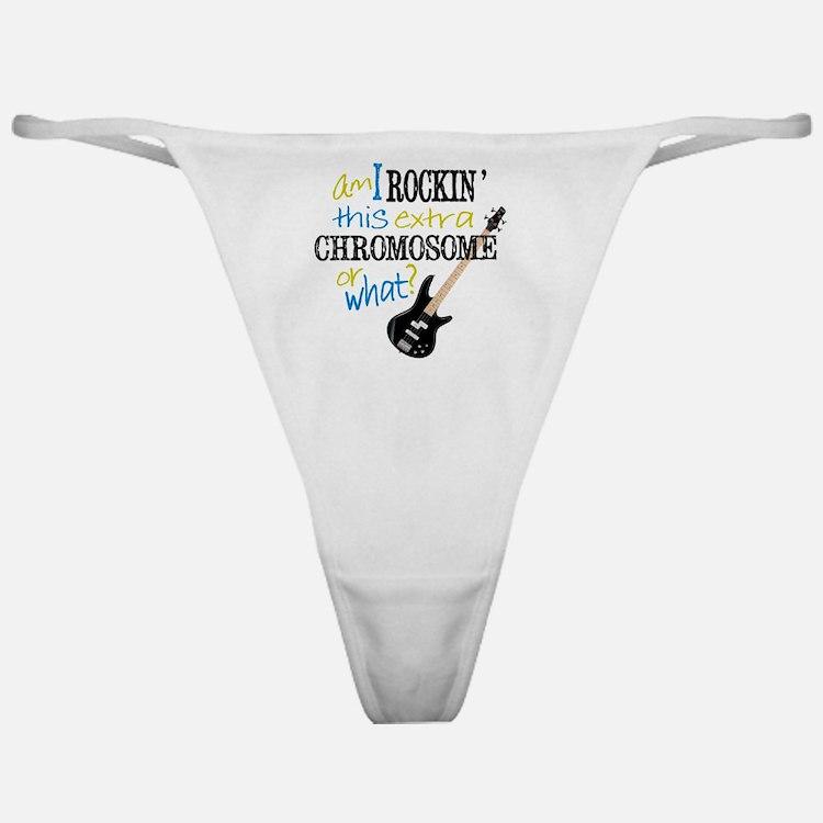 Rockin Chromosome Classic Thong