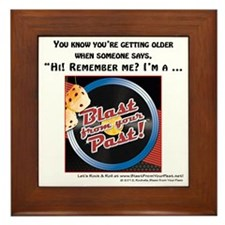 Blast from Your Past-Remember When Framed Tile