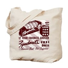 SPUDNUT Look For This Box Tote Bag