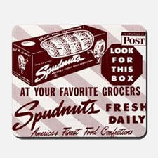 SPUDNUT Look For This Box Mousepad