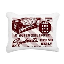 SPUDNUT Look For This Bo Rectangular Canvas Pillow