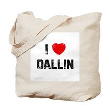 I * Dallin Tote Bag