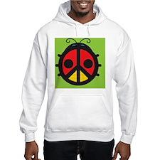 Ladybug Peace Sign Hoodie