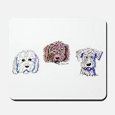 Doodle Trio Mousepad