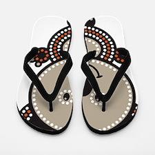 Aboriginal Koala Flip Flops