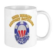 DUI - 82nd Brigade Support Battalion With Text Mug