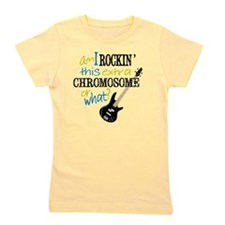 rockin chromosome 2 Girl's Tee