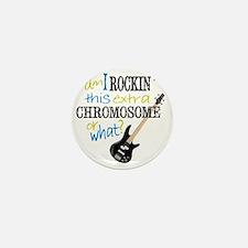 rockin chromosome 2 Mini Button