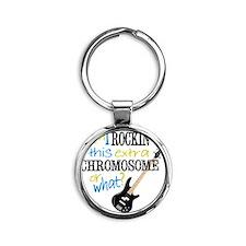 rockin chromosome 2 Round Keychain