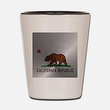 Steel California Republic Shot Glass