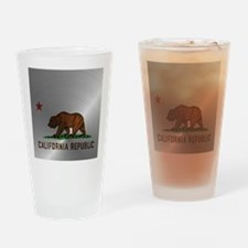 Steel California Republic Drinking Glass