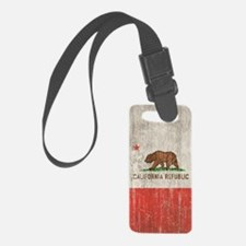 Vintage California Republic Luggage Tag