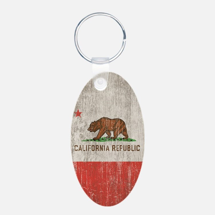 Vintage California Republic Keychains
