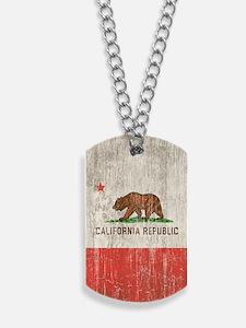 Vintage California Republic Dog Tags