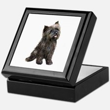 Brindle Cairn (#14) Keepsake Box