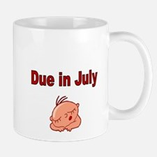 Due in July -baby face Mugs