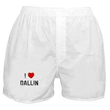 I * Dallin Boxer Shorts