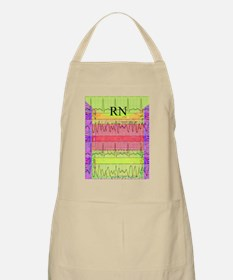 RN iphone cardiac funky Apron