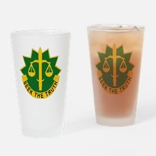 DUI - 6th Military Police Group wit Drinking Glass