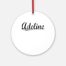 Adeline, Vintage Round Ornament