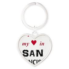 SF_10In12_BlackRed Heart Keychain