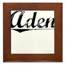 Aden, Vintage Framed Tile