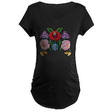 Kalocsai hand embroidery fl T-Shirt