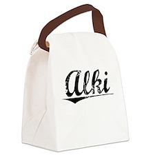 Alki, Vintage Canvas Lunch Bag