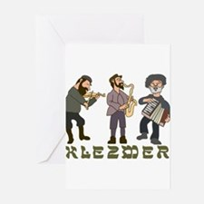 Klezmer Greeting Cards (Pk of 10)