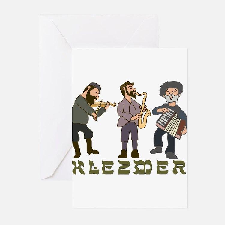 Klezmer Greeting Cards (Pk of 10)