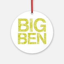 BIG BEN, Vintage, Round Ornament