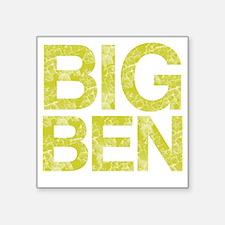 """BIG BEN, Vintage, Square Sticker 3"""" x 3"""""""