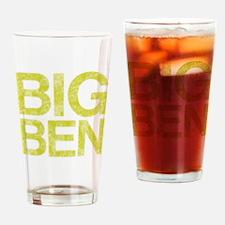 BIG BEN, Vintage, Drinking Glass