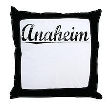 Anaheim, Vintage Throw Pillow