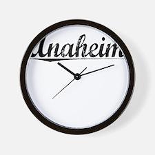 Anaheim, Vintage Wall Clock
