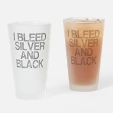 I Bleed Silver and Black, Aged, Drinking Glass
