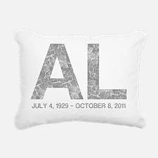 REMEMBER AL DAVIS, Vinta Rectangular Canvas Pillow