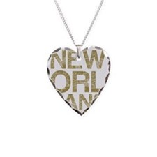 NEW ORLEANS, Vintage, Necklace Heart Charm