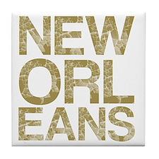 NEW ORLEANS, Vintage, Tile Coaster