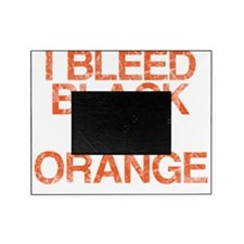 I Bleed Black and Orange, Vintage, Picture Frame