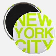 NEW YORK CITY, Fluorescent, Magnet
