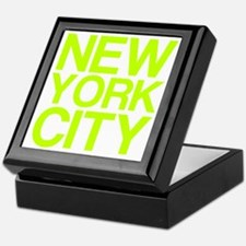 NEW YORK CITY, Fluorescent, Keepsake Box